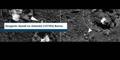 Exogenic Basalt on Asteroid (101955) Bennu