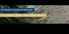 """Un nouveau concept de télescope pour imager les détails """"objets célestes distants"""""""